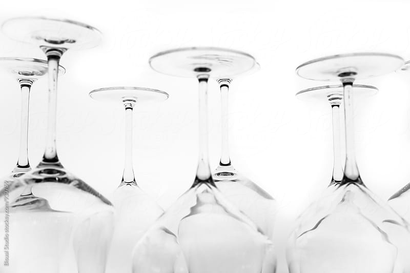 Wine glasses by Bisual Studio for Stocksy United