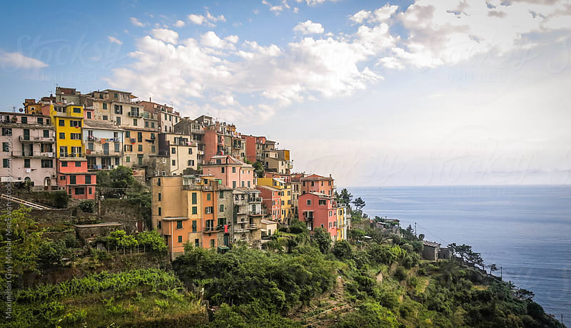 The Colourful Amalfi Coast of Italy by Maximilian Guy McNair MacEwan for Stocksy United