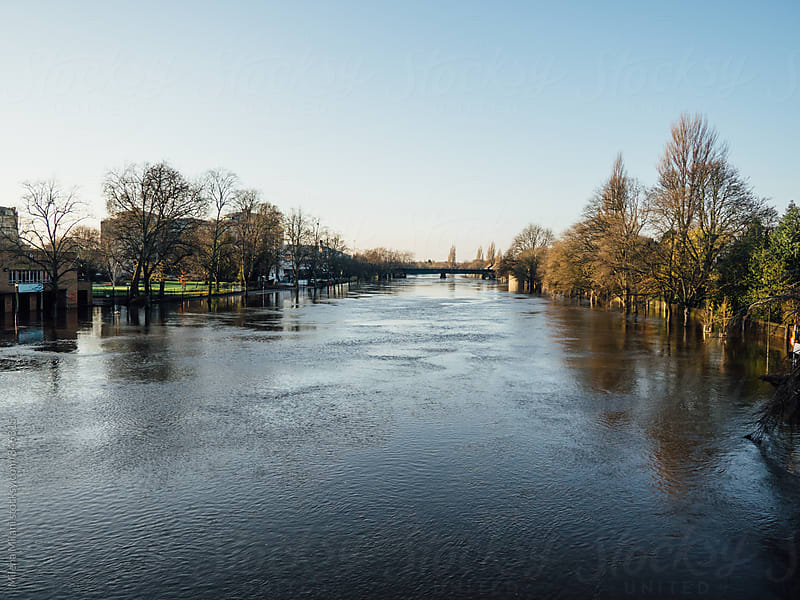 Floods in York by Milena Milani for Stocksy United