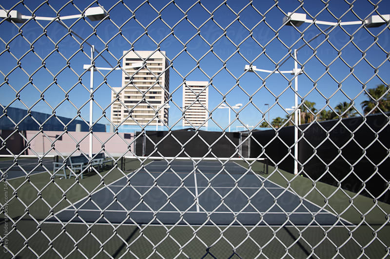 Tennis Court by Carey Haider for Stocksy United