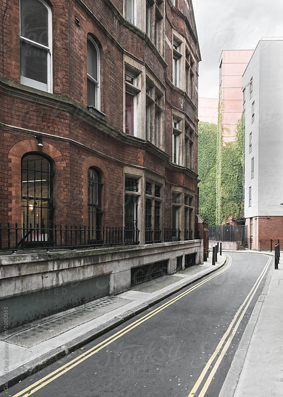 Segment of a Street in London by Gabriel Diaz for Stocksy United