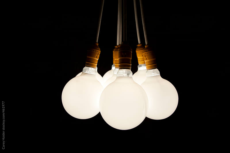 Light Bulbs by Carey Haider for Stocksy United