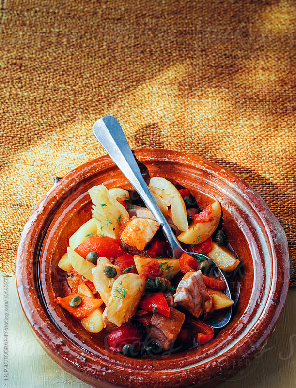 Spanish tuna stew by J.R. PHOTOGRAPHY for Stocksy United