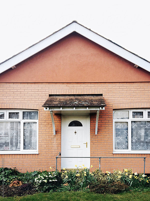 Front of a bungalow by James Ross for Stocksy United