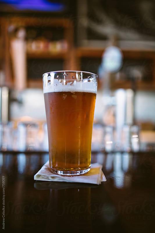 Beer glass - digital file by Andrew Cebulka for Stocksy United