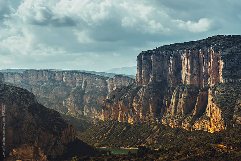 landscape with big canyon by Javier Pardina for Stocksy United