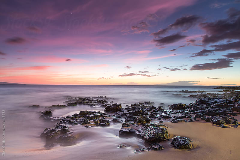 Maui Sunset by Chris Chabot for Stocksy United