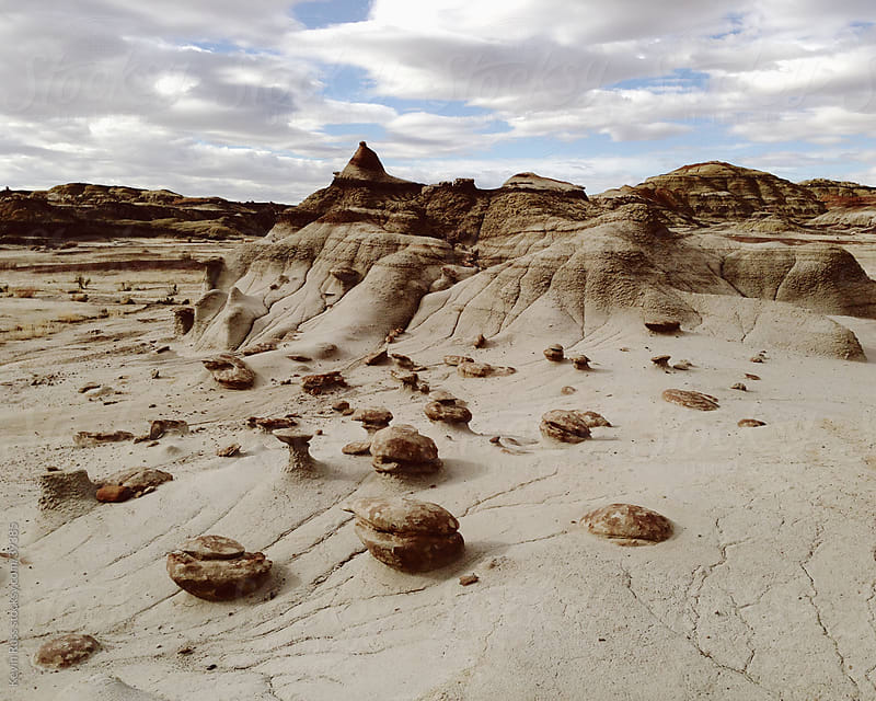 Otherworldly Rocks and Landscape by Kevin Russ for Stocksy United
