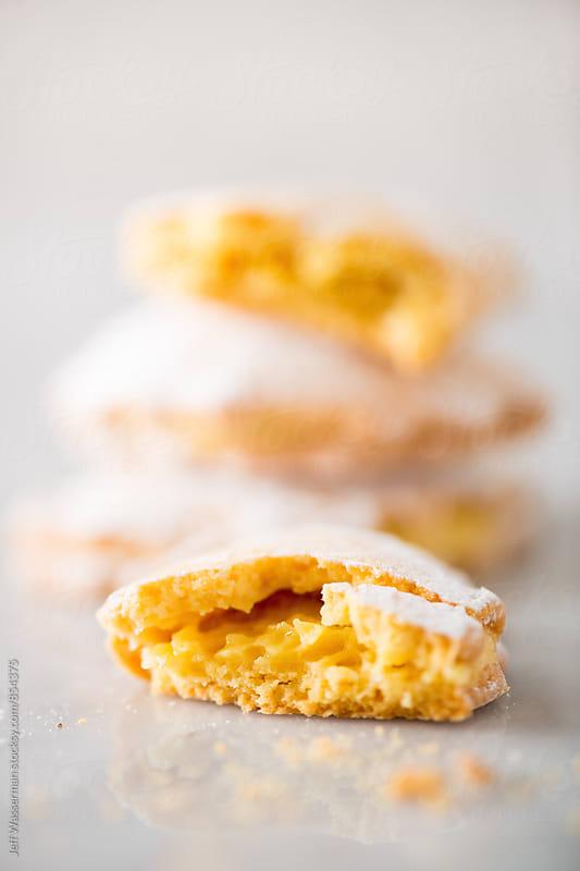 Italian Lemon Filled Cookies by Jeff Wasserman for Stocksy United
