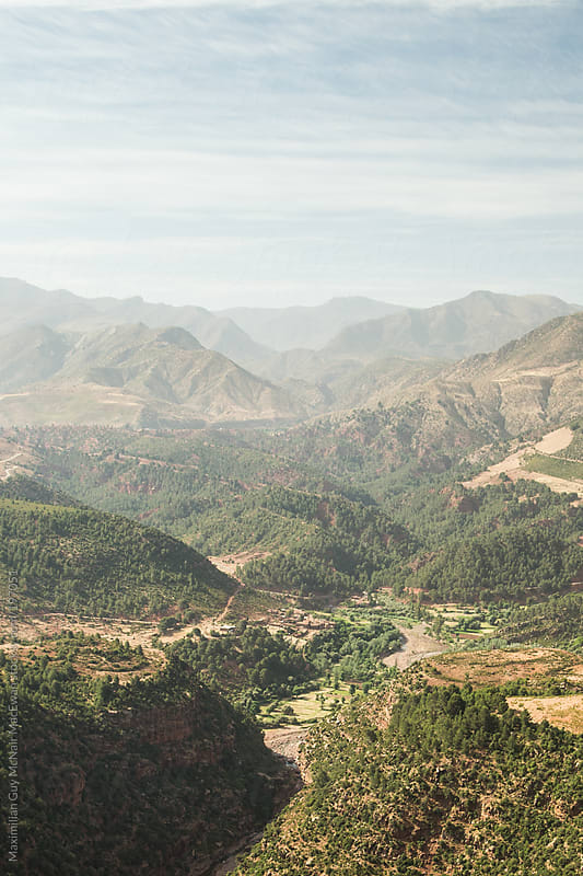 Moroccan Mountains by Maximilian Guy McNair MacEwan for Stocksy United