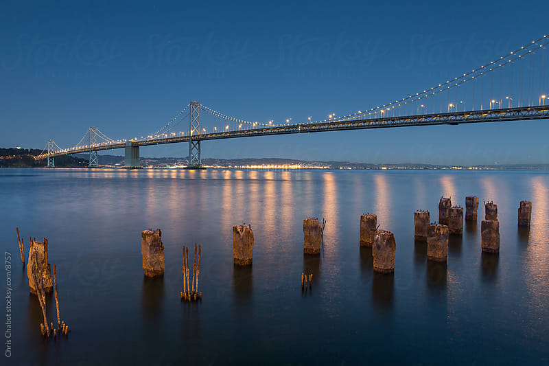 The Bay Bridge by Chris Chabot for Stocksy United
