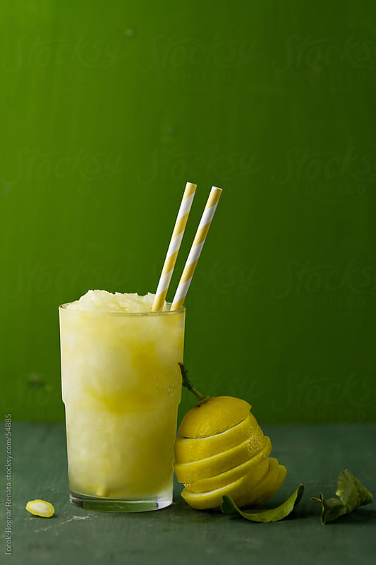Lemon granita by Török-Bognár Renáta for Stocksy United