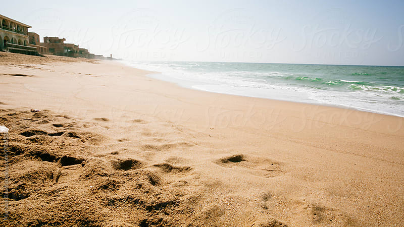 A beautiful beach in Karachi, Pakistan by Murtaza Daud for Stocksy United