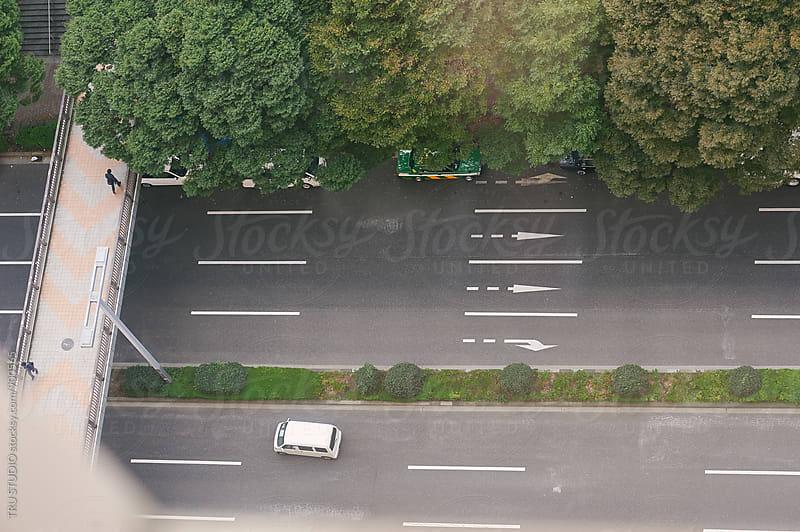 Street view in Tokyo, Japan by TRU STUDIO for Stocksy United