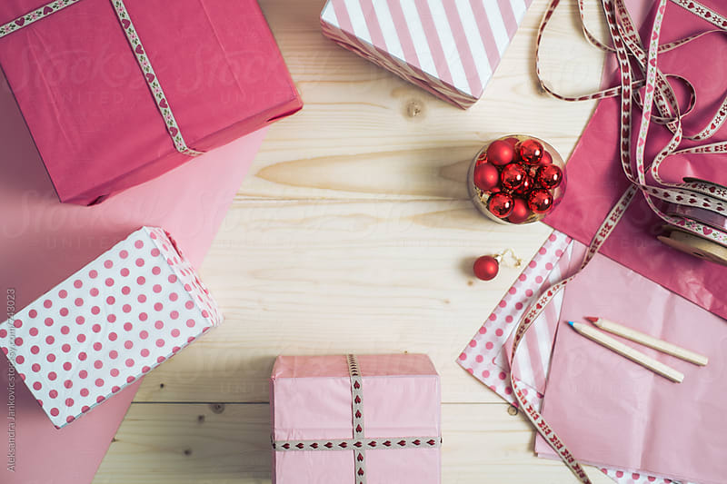 Pink Christmas by Aleksandra Jankovic for Stocksy United