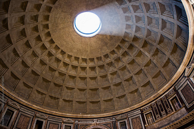 Pantheon, Rome, Italy. by Mental Art + Design for Stocksy United