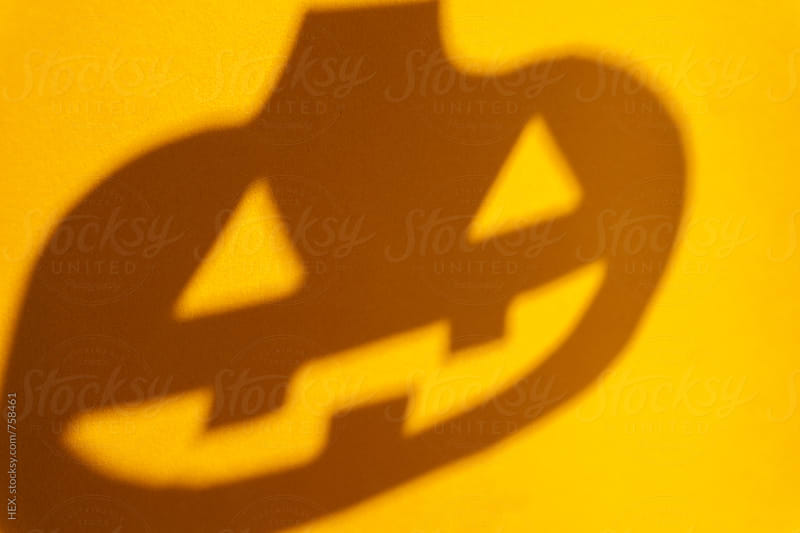 Halloween Pumpkin Orange Background by HEX. for Stocksy United