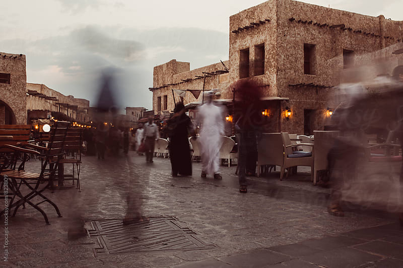 Old town with long exposure by Maja Topcagic for Stocksy United