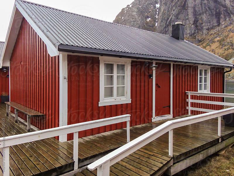 Red cabin by Marilar Irastorza for Stocksy United
