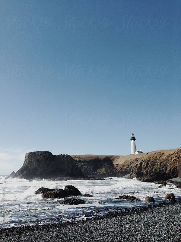 Lighthouse by Kevin Gilgan for Stocksy United