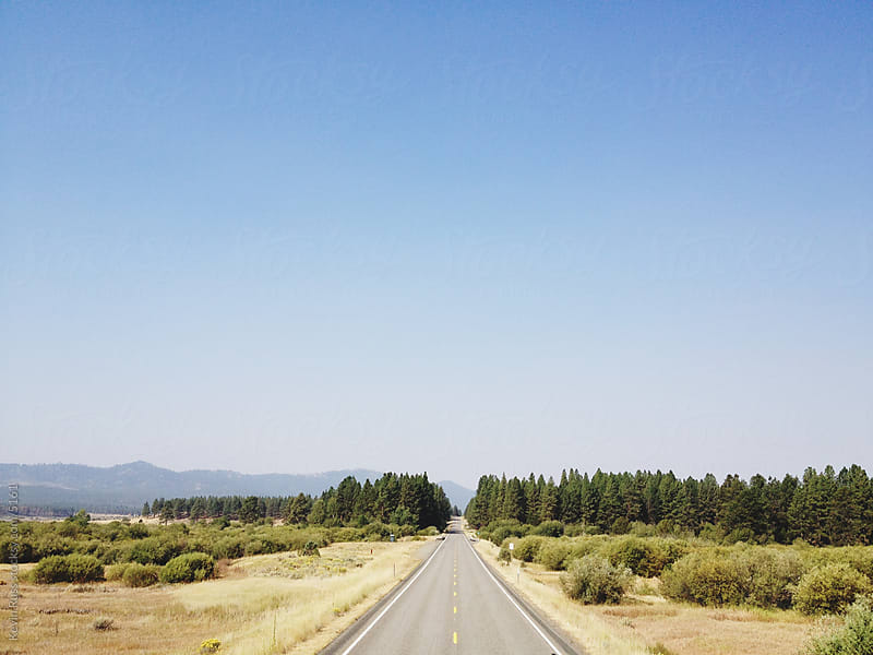 Oregon Country Road by Kevin Russ for Stocksy United
