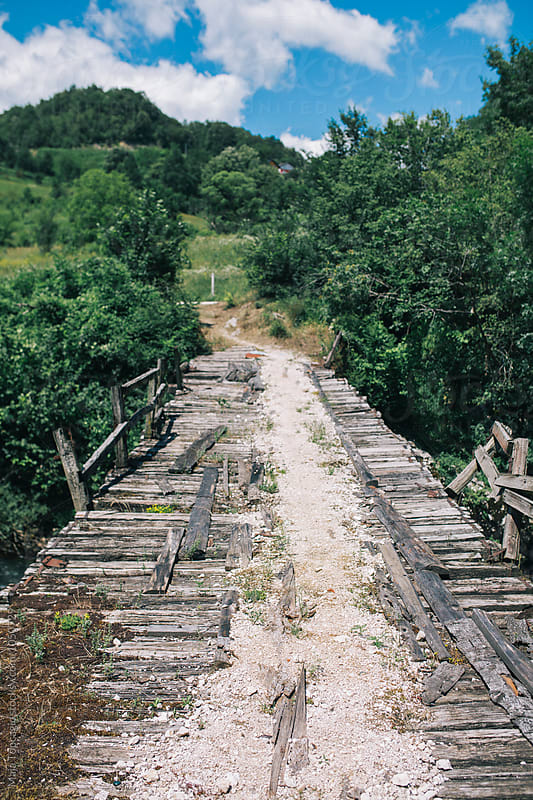Very old bridge by Maja Topcagic for Stocksy United