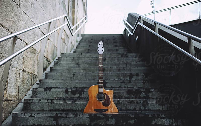 half spanish guitar by Thais Ramos Varela for Stocksy United