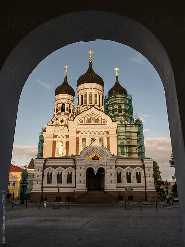 Alexander Nevsky Cathedral in Tallinn/Estonia by Melanie Kintz for Stocksy United