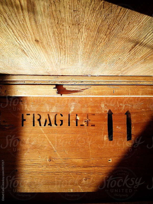 Fragile Wooden Crate by Eldad Carin for Stocksy United