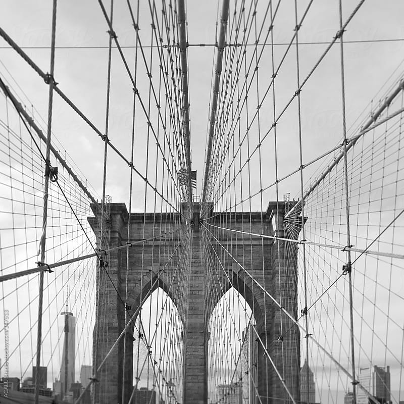 Brooklyn Bridge by ACALU Studio for Stocksy United