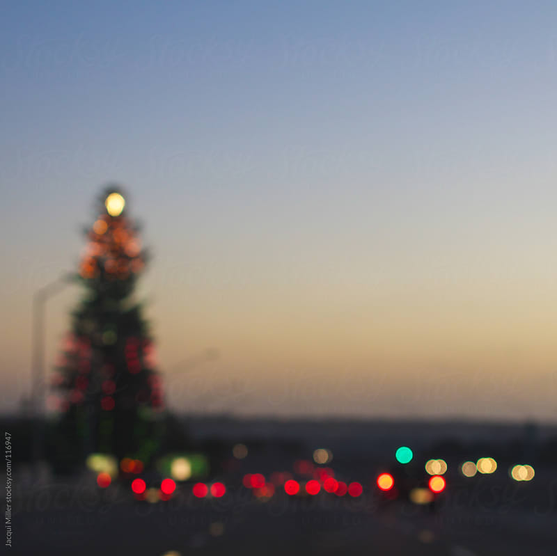 Christmas on the freeway by Jacqui Miller for Stocksy United