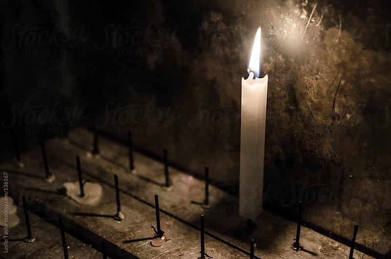 Burning Prayer by Leslie Taylor for Stocksy United