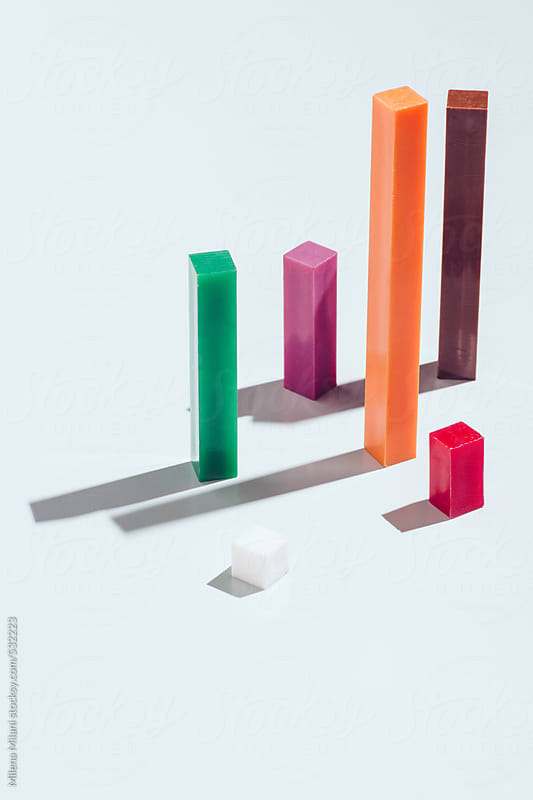 Counting blocks by Milena Milani for Stocksy United