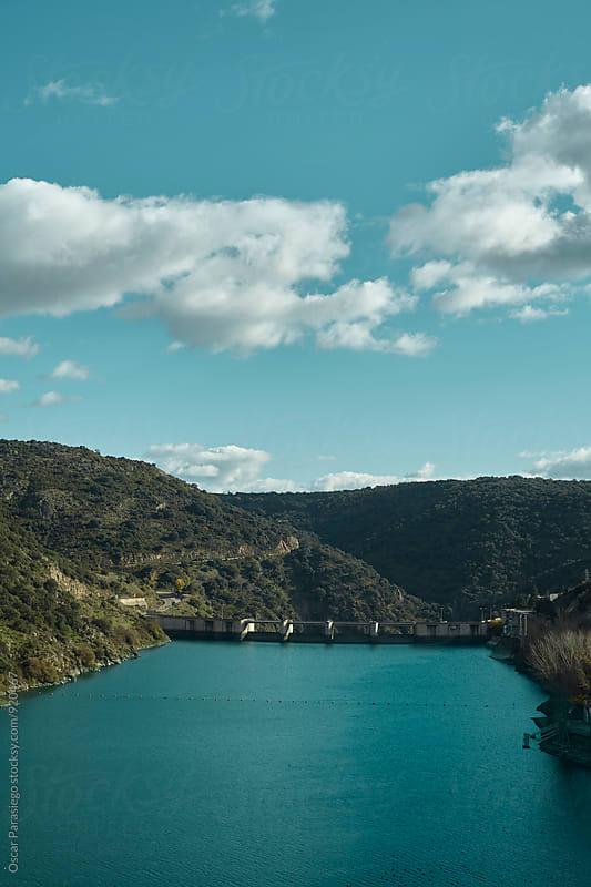 Dam in Castilla by Oscar Parasiego for Stocksy United