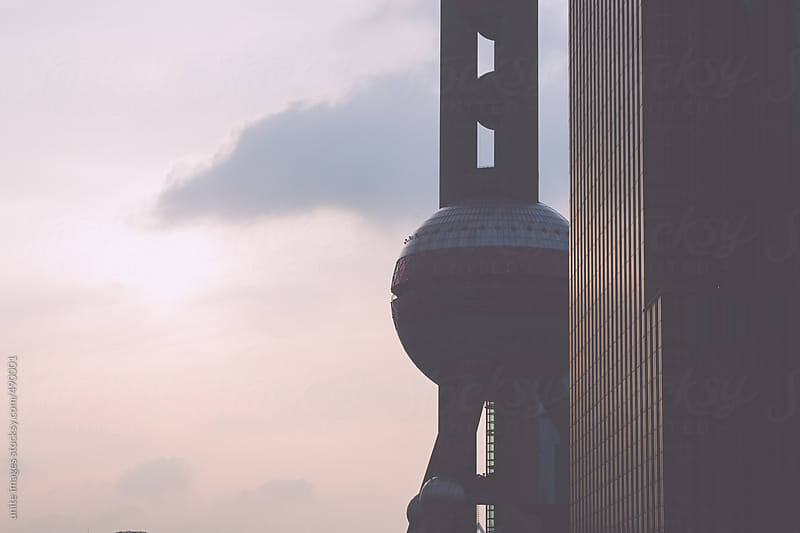 shanghai china by unite images for Stocksy United