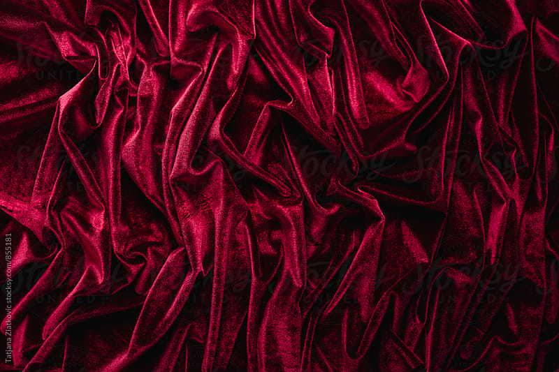 Velvet texture by Tatjana Zlatkovic for Stocksy United