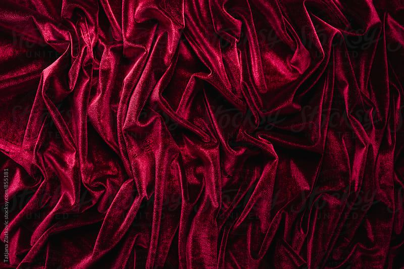 Velvet texture by Tatjana Ristanic for Stocksy United