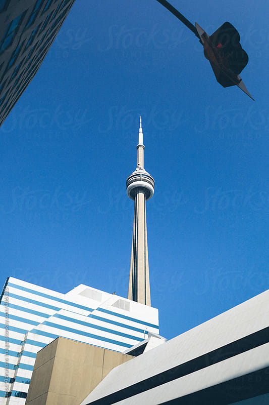 CN Tower Toronto by Good Vibrations Images for Stocksy United
