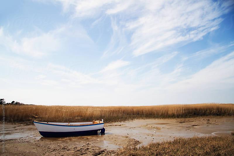 Low Tide in Norfolk by Helen Rushbrook for Stocksy United