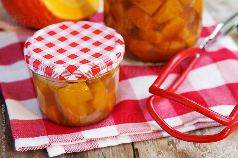 Sweet & Sour Pickled Pumpkin by Harald Walker for Stocksy United