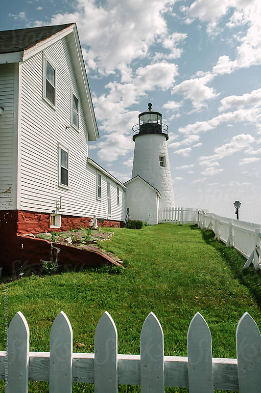 Pemaquid Point Lighthouse  by Raymond Forbes LLC for Stocksy United