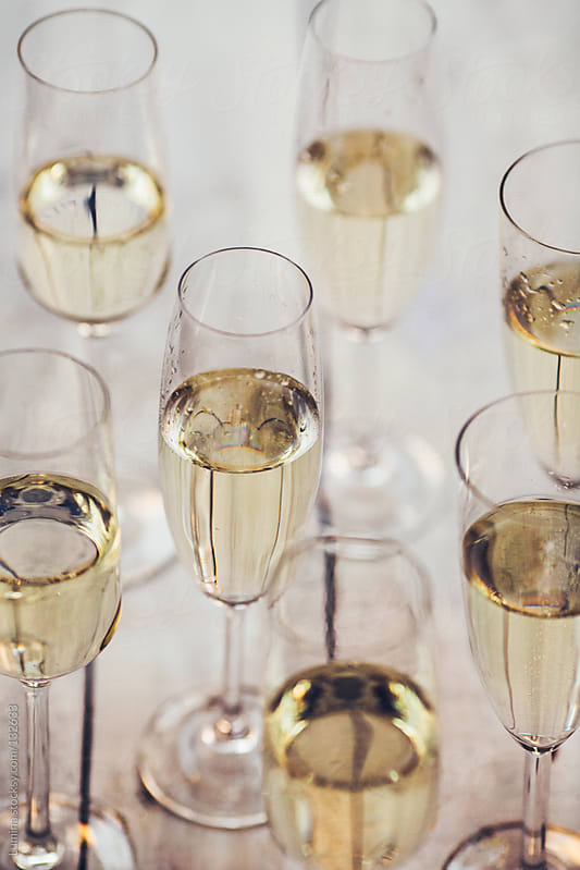 Champagne Flutes by Lumina for Stocksy United