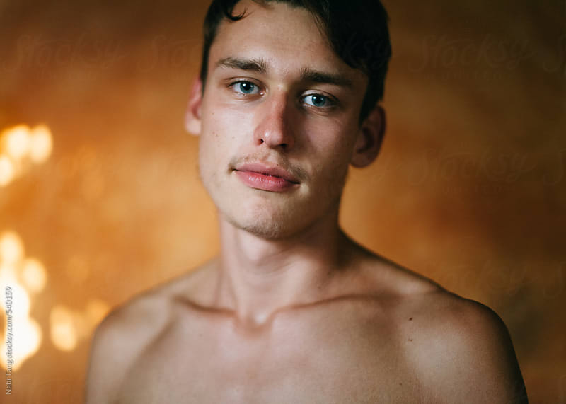 Handsome young man portrait by Nabi Tang for Stocksy United