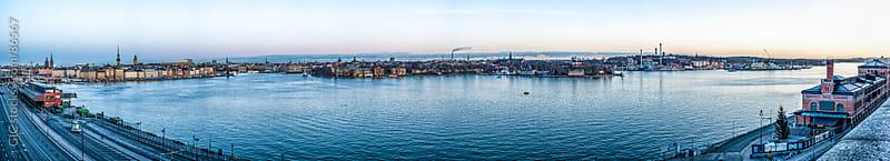 Stockholm skyline by GIC for Stocksy United