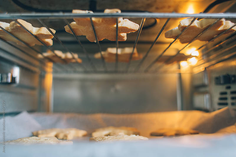 Baking Christmas Cookies by Jovo Jovanovic for Stocksy United