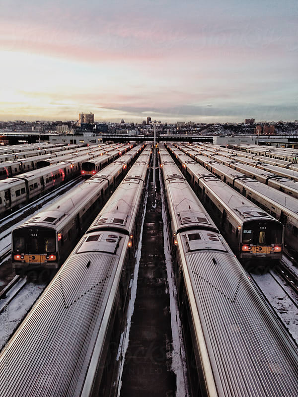 Trains by Jesse Weinberg for Stocksy United