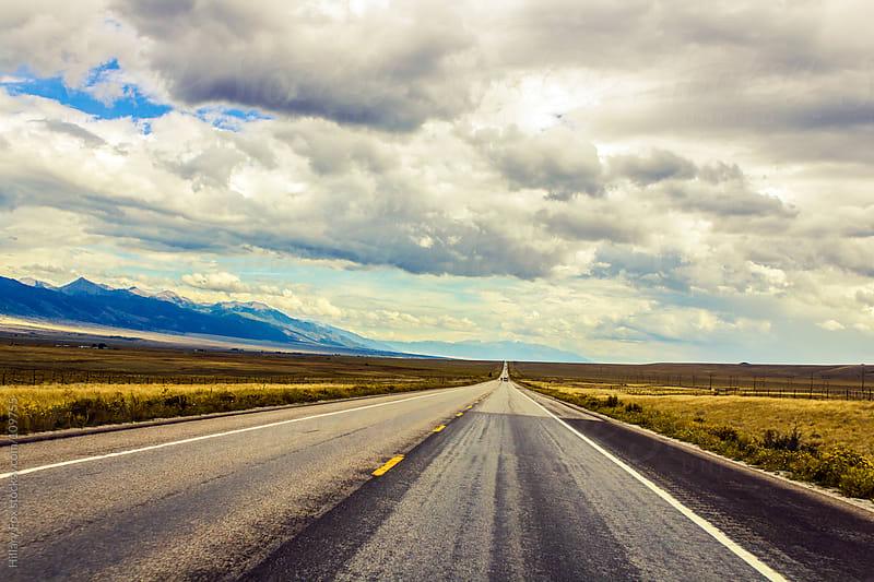 Colorado Highway by Hillary Fox for Stocksy United