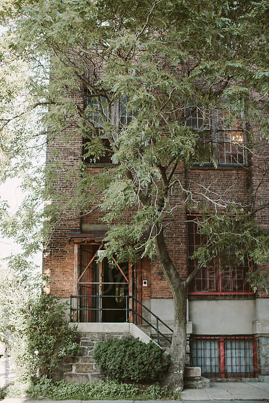 Brick Building in New York by Sidney Morgan for Stocksy United
