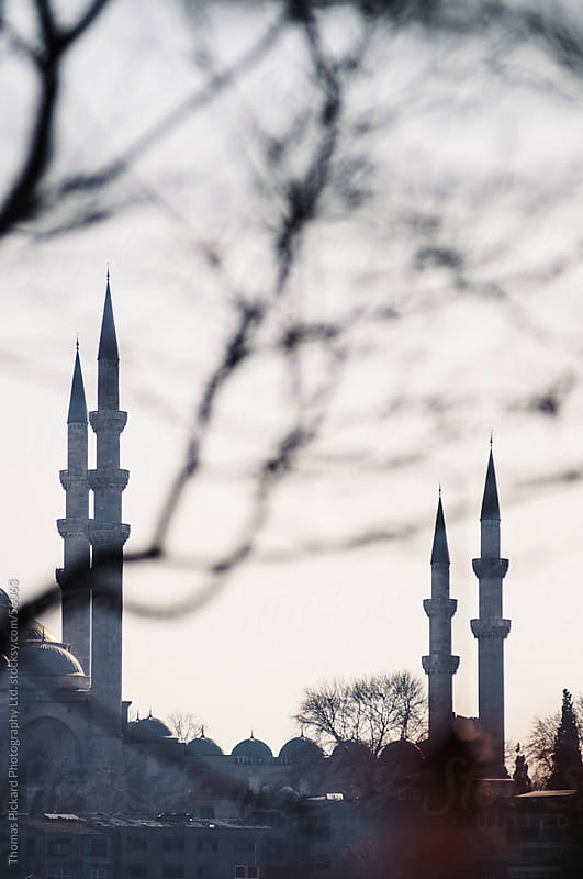 Minarets, Istanbul Turkey. by Thomas Pickard for Stocksy United