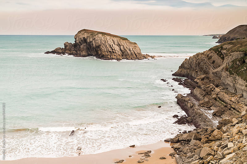 Beautiful coastline in northern Spain by Marilar Irastorza for Stocksy United